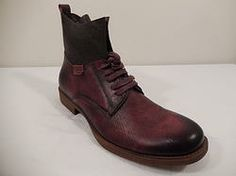 Encore Red Lamb Skin Ankle Boot