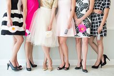 Modern pink, black and white party ideas   photo by Charlie Juliet   Read more - http://www.100layercake.com/blog/2014/02/03/modern-pink-black-white-party-ideas/