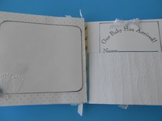 Baby boy scrapbook album pre made moms by PreciousPagesBySusan
