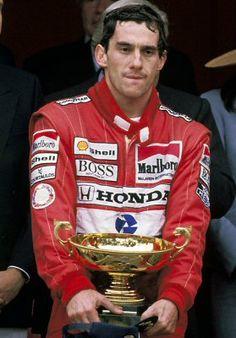 Piloto Ayrton Senna, McLaren Honda, Mónaco 1989