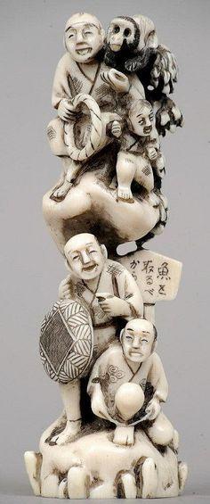 Okimono 19th Century
