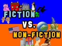 Fiction vs. Non-Fiction! (a song for kids about fiction & non-fiction) - by Mr. Harry  For more pins like this visit: http://pinterest.com/kindkids/loving-language-arts-charlotte-s-clips/