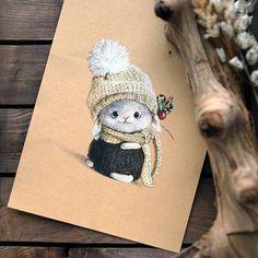 Ощущение будто моего малыша связали цветными мелками :) Оксана (@cheboksarka), еще раз спасибо большое!!!! #привычка_радовать  #привычкарадовать  #Алейникова_Александра #магадан #magadan #mgdn #happyhobby #овечка #моиовечки #рисунок #мастерасвоегодела #ялюблюсвоюработу