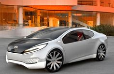 Kia Ray Concept - Replacing side mirrors with a camera system that weighs significantly less will mean that the weight of your vehicle will be reduced as well.