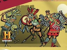 CC Cycle Week 16 - Ask History: What Happened to the Aztecs? Ancient Aztecs, Ancient Civilizations, Ancient History, History Lesson Plans, World History Lessons, History Quotes, History Channel, Aztec History, Aztec Empire