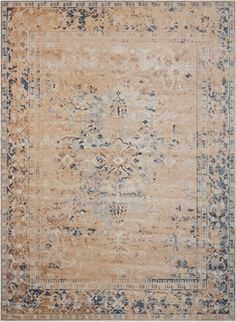 kathy ireland by Nourison Bordered Vintage Area Rug 311W x 57D | National Business Furniture