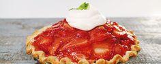 This strawberry pie is sweet & delicious from Clinton Kelly.  NOTE:  The Whipped Sour Cream Topping is really SPECIAL according to the rest of The Chew Crew... / kj