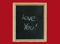 Make your own kitchen chalkboard with PlastiKote spray paint. Spray paint ideas brings you spray paint tips, makeovers, vlogs, competitions & pictures Spray Paint Tips, Spray Paint Projects, Spray Painting, Kitchen Chalkboard, Say I Love You, Valentines Day, Blog, Art, Valentine's Day Diy