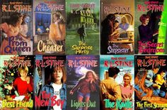 Fear Street books-loved these in middle school!