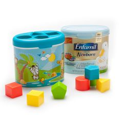 2 Toys Kits for the reuse of Enfamil Infant Formula by Ecodu