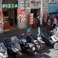 Scooters - Rome, Italy