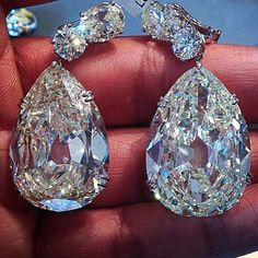 My THIRD post of these amazing beauties..... Different view and angle each post.....I just can't get enough of them !!!! @christiesjewels earrings in the hands of @jogani_treasures