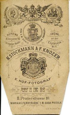 1882. Nikolaus Stockmann & Fritz Knozer reverse | by elinor04 thanks for 24,000,000+ views!