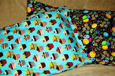 GEasy pillowcases for birthdays, holidays, bed-rest, or any occasion. Just pick 1 yard of whatever cotton fabric you want. If you can sew a straight(ish) line, thats all the skill you need.
