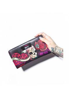 #skull #handbag #wallet #punk #suicidegirl