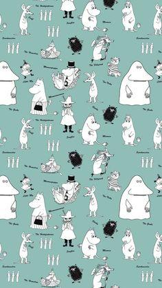 Cute Backgrounds, Cute Wallpapers, Iphone Backgrounds, Aesthetic Iphone Wallpaper, Aesthetic Wallpapers, Little My Moomin, Moomin Wallpaper, Les Moomins, Moomin Valley