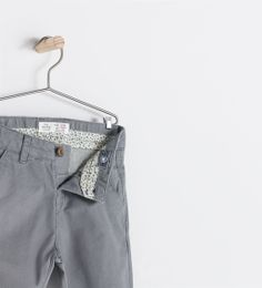 ZARA BABY - BASIC POPLIN CHINO TROUSERS