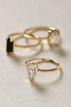 Set de anillos de Anthropologie
