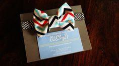 Bow Tie for Baby Boy, CHEVRON. $16.15, via Etsy.