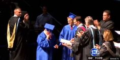Brother refuses to walk alone at Graduation, unless his Twin who has Downs Syndrome can walk with him; even though his Brother wouldn't be graduating quite yet. He's stated his Brother has worked just as hard as him, but with different challenges.  #downssyndrome