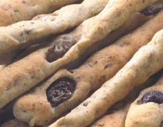 ⇒ Le nostre Bimby Ricette...: Bimby, Grissini di Grano Saraceno con Semi di Zucca e Olive