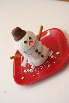 Advent Activity: Donut Snowman