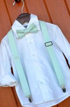 PERFECT MATCH to David's Bridal's Mint - just in time for Spring weddings!  Handmade in Texas by Dressed to Thrill - www.idresstothrill.com