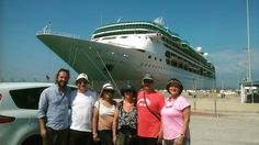 😃Our tour guide Vasilis with his group from in port😆 Passengers from the cruise ship, Rhapsody of the seas. 🌟Enjoy a guided tour with an licenced tour guide and archaeology graduate. Rhapsody Of The Seas, Olympia Greece, Olympic Flame, Shore Excursions, Tour Guide, Archaeology, Olympics, Athlete, Cruise