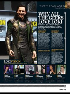 Thor: The Dark World Feature - Return Of The King - SciFiNow Issue 85 [HQ]