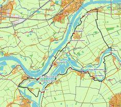 GPS-fietsroute Wamel – Lith – Heerewaarden (44 km) # Houdt u van fietsen langs de grote rivieren? Dan is deze route over de dijken van het Land van Maas en Waal een aanrader! U passeert vele kolken, de stille getuigen van woeste dijkdoorbraken. Ook komt u langs het oude visserdorpje Heerewaarden, waar de Maas en de Waal elkaar bijna raken. En u ontdekt de intrigerende geschiedenis van het kanaal van Sint Andries, dat met zijn 2,1 kilometer de Maas en de Waal verbindt.