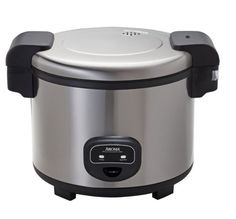 Commercial Rice Cooker Stainless Steel Yields 60 Cups Of COOKED Non-Stick Rice…