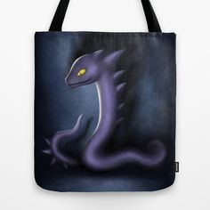 #Sharpent #snake #serpent #totebag #Society6 #dark #illustration #OriginalCharacter #Drawing #Animal #CharacterDesign #purple #scary #spikes #digital #Photoshop #OC