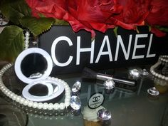 CHANEL Birthday Party!  See more party ideas at CatchMyParty.com!