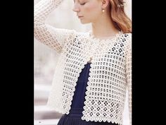 crochet shrug| how to crochet vest shrug free pattern tutorial for beginners 14 - YouTube