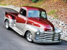 It All Started With Rusty Steel and a Man's Vision. This 1953 Chevy Truck Went Through A Surprising Transformation