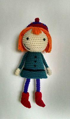 Peg Cat Peg doll inspired by peg plus cat peg by TrueBlueStark