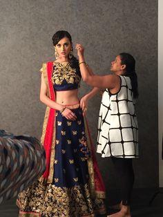 #InTheMaking #GhagraCholi #Womenswear #Benzer #Benzerworld