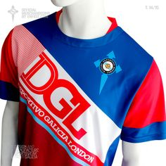 Official t-shirt goalkeeper DEPORTIVO GALICIA LONDON, season 2014 / 15. Sportswear, Tops, Fashion, Fo Porter, Sporty, T Shirts, Moda, Fashion Styles, Fashion Illustrations