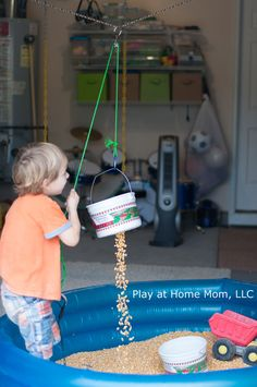 Buckets, Pulleys, and Corn - a simple set of resources that provides open-ended opportunities for creativity and critical thinking.