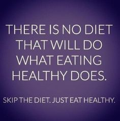 Literally, this is so true, if people would  change their lifestyle, and just eat healthy instead of repeating the quick solution. which never works in the long run.