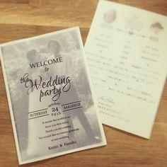 まさかの{様}をつけ忘れるという大失態をおかした席次表…多分2度目は間違ってないはず間違ってても申し訳ないが、やり直す気力はもうない…… Wedding Place Cards, Wedding Paper, Diy Wedding, Wedding Reception, Wedding Ideas, Invitation Cards, Wedding Invitations, Message Card, Paper Goods