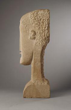 Amedeo Modigliani: Woman's Head (1997.149.10)   Heilbrunn Timeline of Art History   The Metropolitan Museum of Art