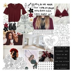 """""""'Cause you're a force of nature"""" by xo-sunkissed ❤ liked on Polyvore featuring Monki, ABS by Allen Schwartz, Zara, Prada and Clips"""