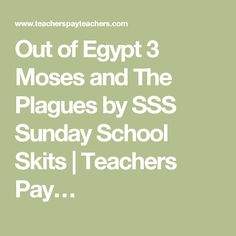 Out Of Egypt 3 Moses And The Plagues