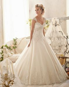 Style 2609 Lace Wedding Dress Cap Sleeve Removable Butterfly Ball Gown Wedding Dresses Chapel Train Ivory Organza-in Wedding Dresses from Weddings & Events on Aliexpress.com | Alibaba Group