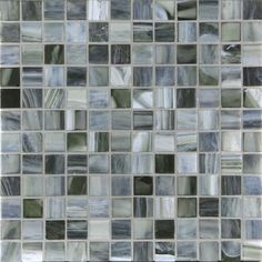 The Glass Mosaic Night Collection - Pono Stone Natural Stone Flooring, Grey Kitchen Cabinets, Glass Mosaic Tiles, Solid Surface, Close Image, Natural Stones, Palette, Arrow Keys, Color