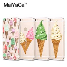 Soft Sillicon Transparent TPU Phone cases Donuts Macaron Pattern  For iPhone 5s 6s6plus 77 plus case