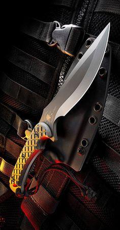Spartan Blades Nyx Fixed Blade Fighting Survival Knife Kydex Sheath @aegisgears
