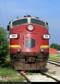 RailPictures.Net Photo: PREX 1751 Keokuk Junction Railway EMD FP9 at Canton, Illinois by Rob Schreiner