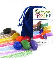 Crayon Rocks 8 Colors in a Blue Velvet Bag Crayon Rocks http://www.amazon.com/dp/B00OPFGMB2/ref=cm_sw_r_pi_dp_v-krwb1BA9WF7